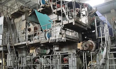 paper-machine-press-section-dewatering-process