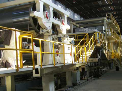 White Kraft Liner Paper Production Plant
