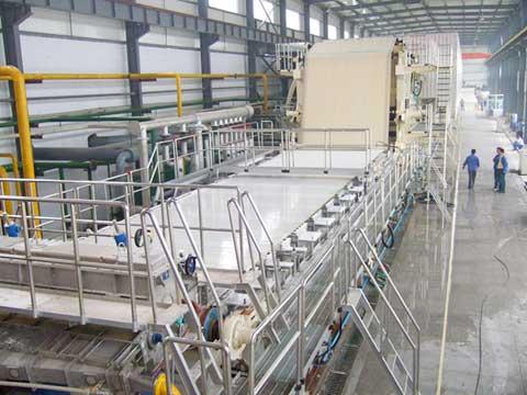 Newsprint Paper Production Line Machine