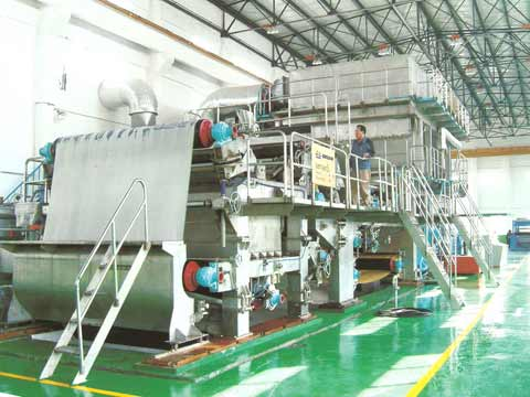 Paper Plant Equipment for Tissue Production