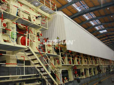 Corrugated Fiberboard Making Plant