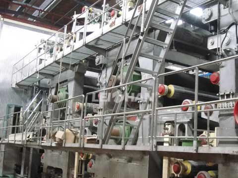 Kraft Paper Jumbo Rolls Production Unit