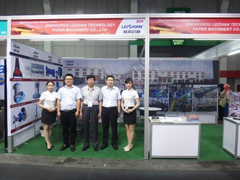 Leizhan Won Many Customers in Asian Paper 2016