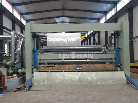 Slitting And Rewinding Machine In Paper Making Line