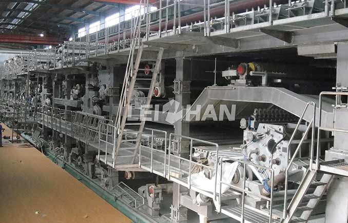 Pulp Equipment for Vietnam Kraft Paper Making Line