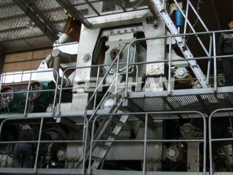paper-machine-vacuum-press
