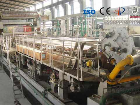 forming-section-of-paper-machine