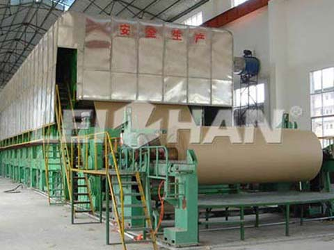 3400mm-kraft-paper-making-machine