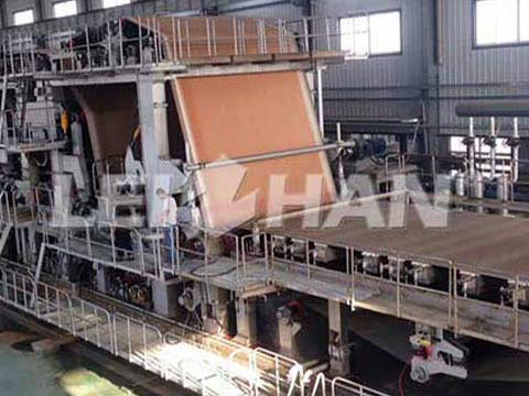 3200mm-corrugated-paper-machine